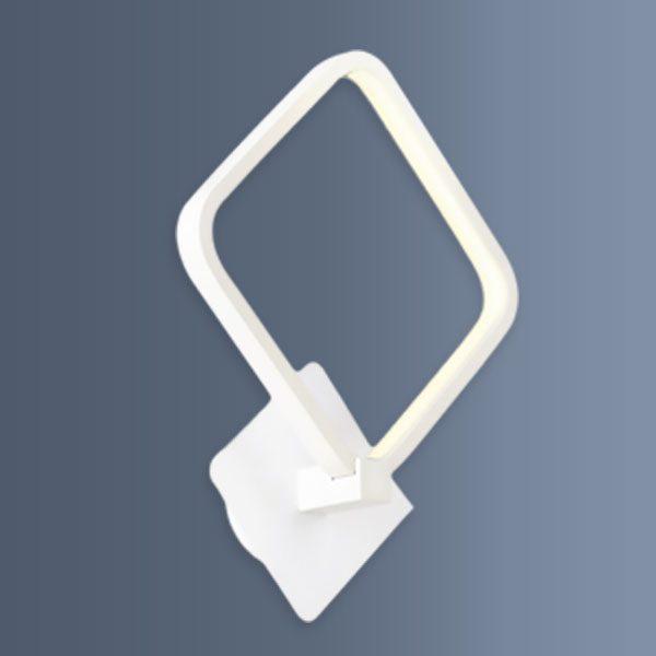 Aplica cu LED de perete avand forma patrata