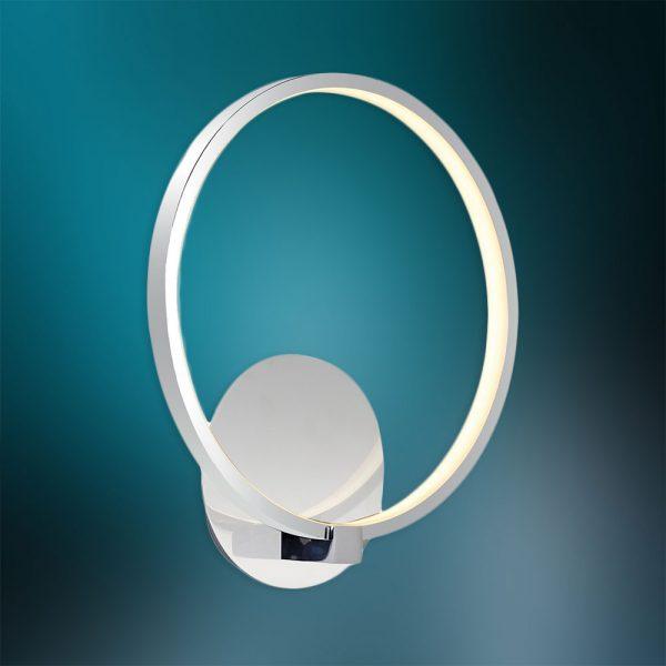 Aplica cu LED de perete cu un inel - 19W