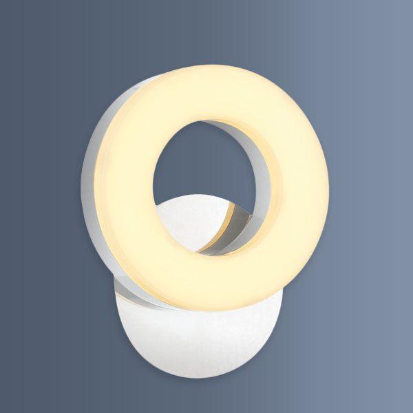 Aplica eleganta cu LED de perete cu un inel