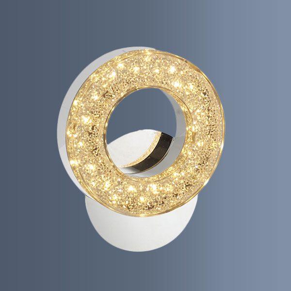 Aplica eleganta cu LED de perete sub forma de inel