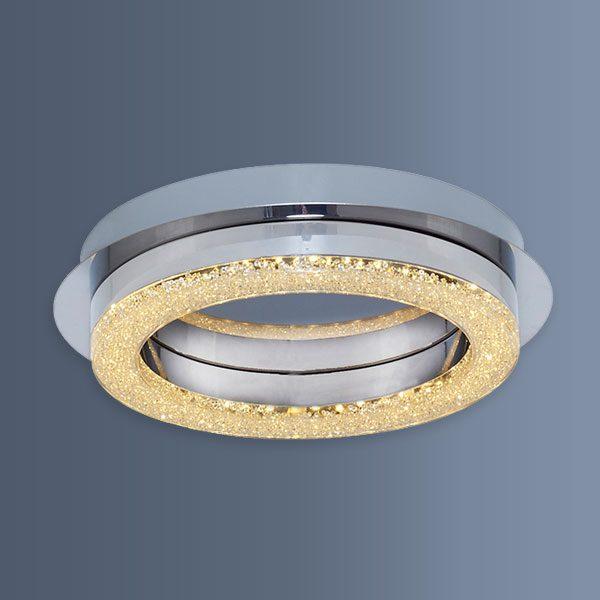Plafoniera eleganta cu LED avand forma rotunda